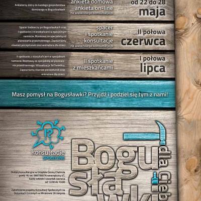 Plakat dla Konsultacji Społecznych - Gmina Chełmża