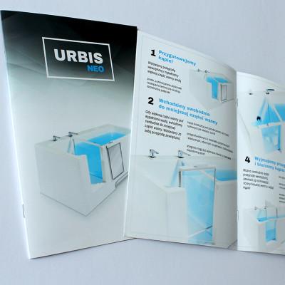 Projekt i realizacja katalogu B5 dla Firmy URBISNEO