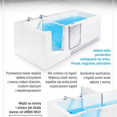 A5, projekt na łamy reklamy drukowanej w gazecie